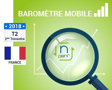 tableau de synthèse baromètre mobile France nPerf