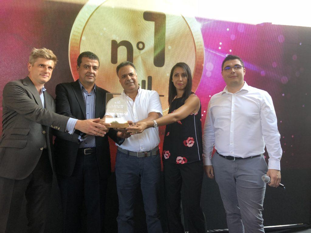 Remise de l'award nPerf 2018