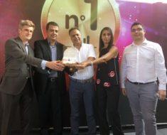remise award nPerf à Inwi au Maroc