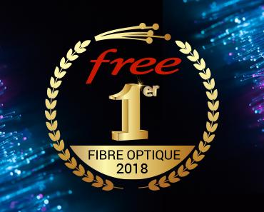 Free numero 1 sur la fibre optique