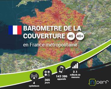 couverture 4G France 2018 nPerf